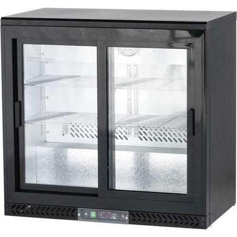 STALGAST szafa chłodnicza do butelek drzwi przesuwane! 202L typ 882161