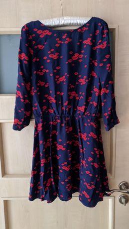 Ciekawa sukienka 36 38 print