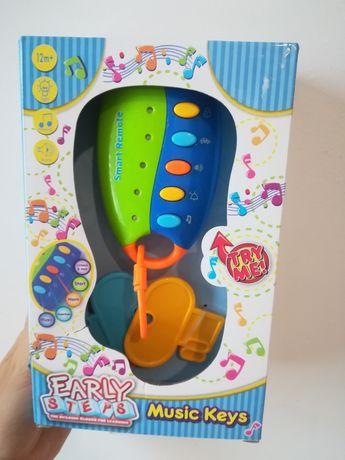 Zabawka dziecięca pilot z kluczykami Nowa w opakowaniu