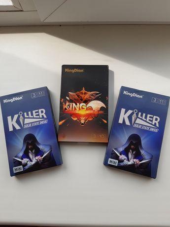 Жесткий диск Накопитель SSD диск 2.5 KingDian 120GB 128GB SATAIII