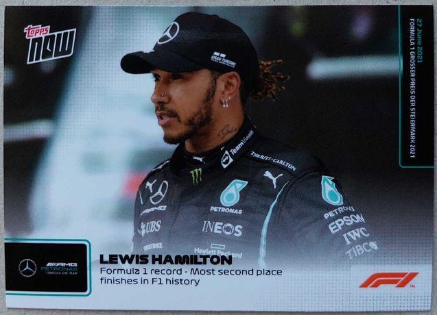 Topps Now F1 Formula 1 2021 Cartas #20 - #26