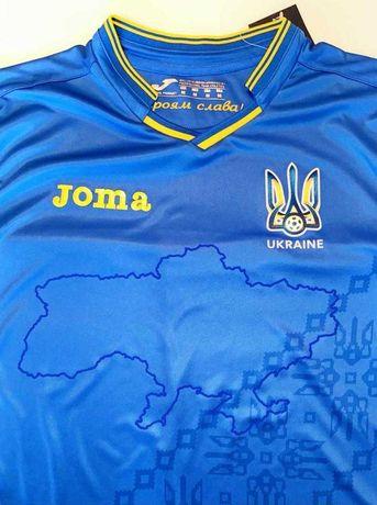 Нашумевшая футболка сборной Украины для ЕВРО Joma синяя