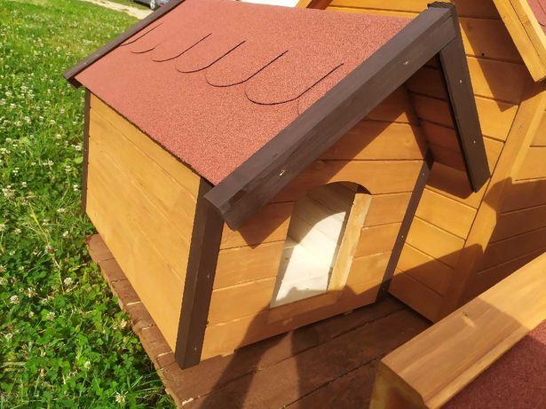 Budy dla psów - ocieplane