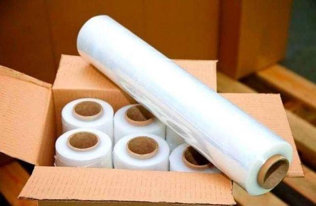 Стрейч пленка прозрачная 500м, плотность 17мкн и 20мкн