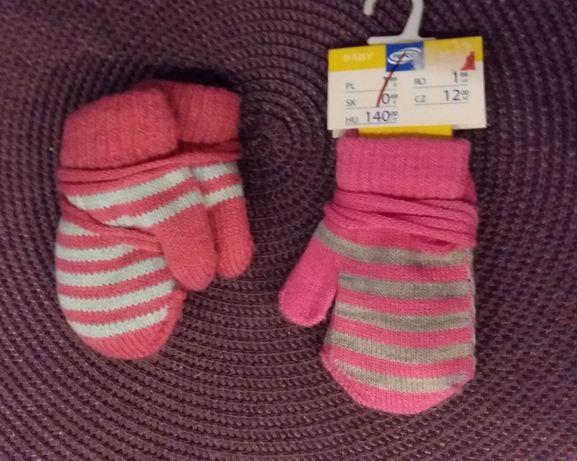 Nowe rękawiczki z jednym palcem na szcznurku