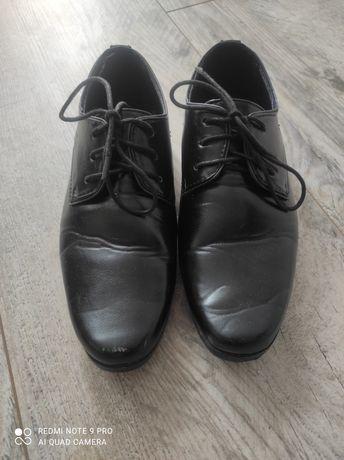 Buty komunijne czarne 36