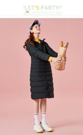 Красивое демисезонное пальто, пуховик