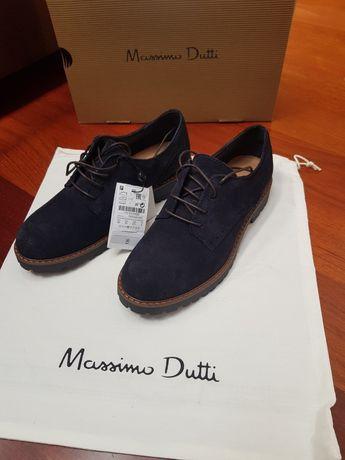 Sapatos Massimo dutti n35 Novos c/etiqueta