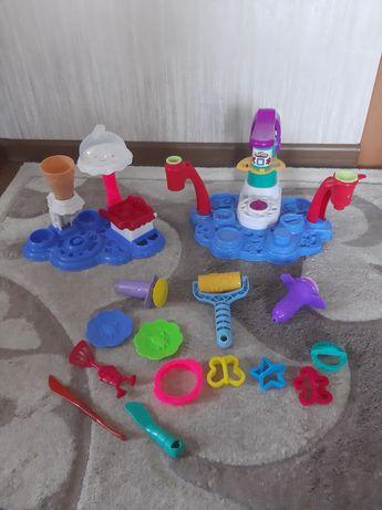 Две фабрики мороженого и пироженого play doh оригинал за 450 грн