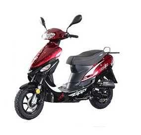 Zipp Tops RS 4T 50cc Czerwony Nowy!!!Salon!!!Gwarancja!!!Raty!!!