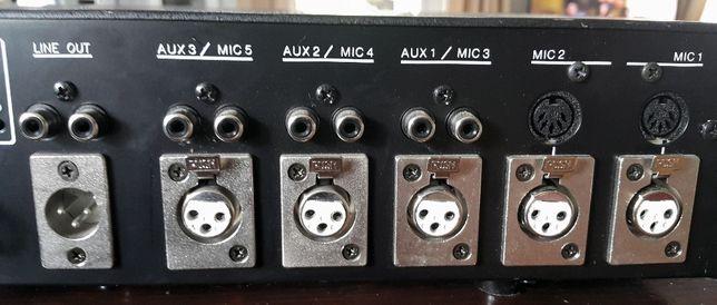 Powermixer Seis Akustik, końcówka mocy, radiowęzłowy