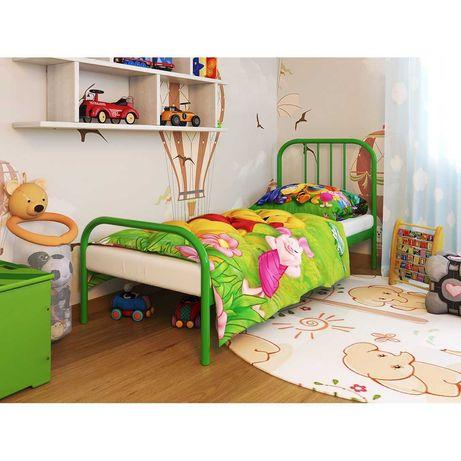 Бамбо (Bambo) кровать детская металлическая Метакам 60х140
