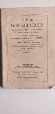 Les Solfège des Solfèges Vol 2 - Henry Lemoine & G. Garulli