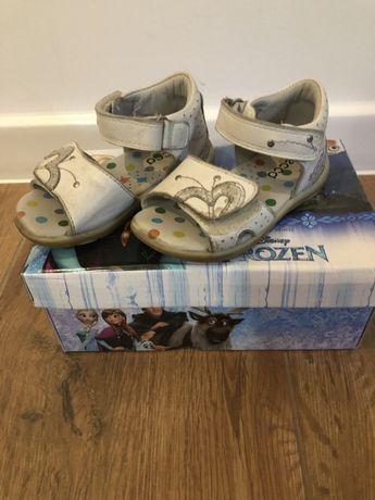 Skorzane Sandalki Ecco w rozmiarze 22