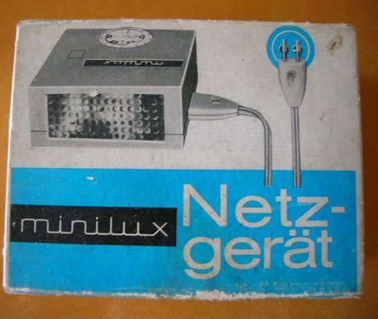 Lampa błyskowa Minilux Elgawa DDR