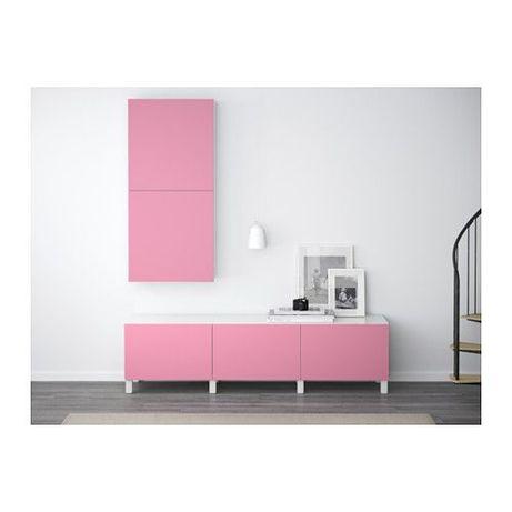 Lappviken front besta ikea rozowy rozowe pink