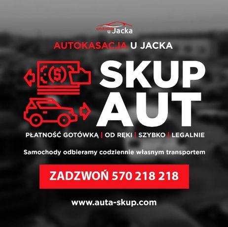Wąbrzeźno Skup aut / Złomowanie pojazdów / skup samochodów
