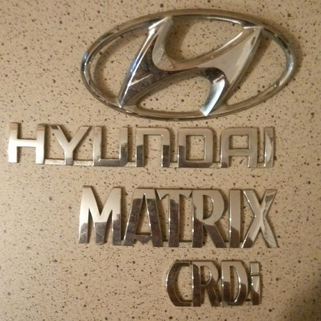 Знак Hyundai Matrix и KIA