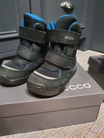 Зимові чоботи ecco  зимние сапожки ecco, зимові чобітки