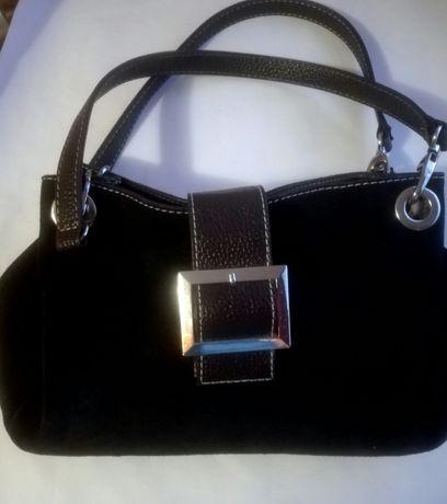 Damska czarna torebka