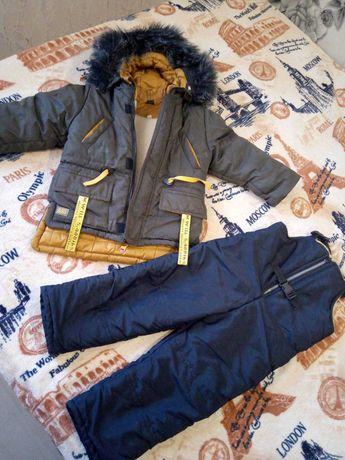 Зимний костюм на 2-4 года