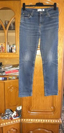 Spodnie jeansowe damskie 38.