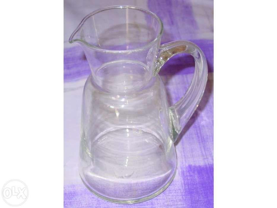 Jarro para vinho em vidro , usado nos restaurantes e tasquinhas Amora - imagem 1