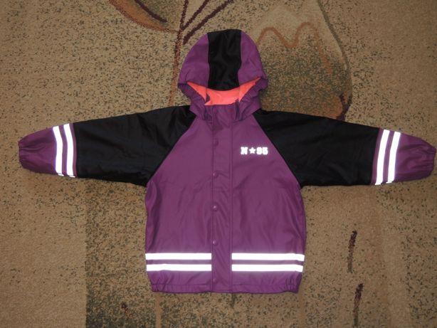 фирменная демисезонная куртка дождевик Lindex р.122