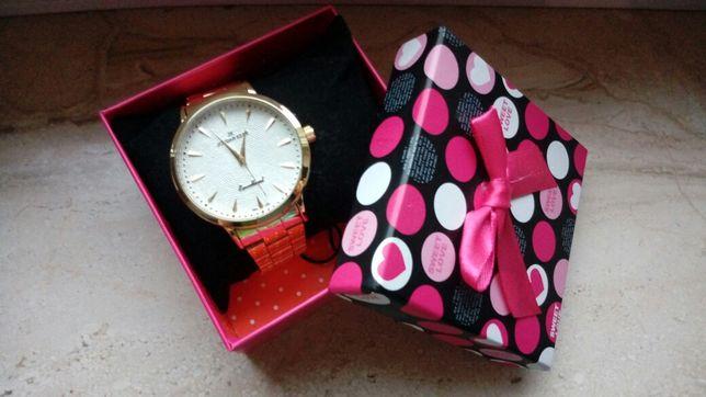 Zegarek damski duży Jordan Kerr w pudełku, gotowy na prezent