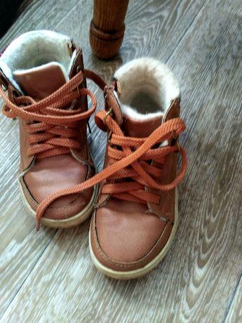 Ботиночки, хайтопы  для мальчика,зимние, размер 26