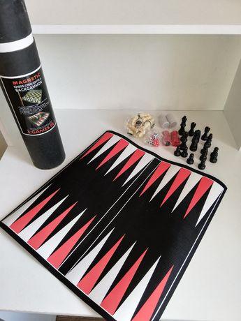 Настольная игра 3 в 1 шашки та шахмати