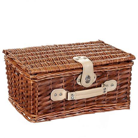 Корзина, набор для пикника из лозы на 4 персоны