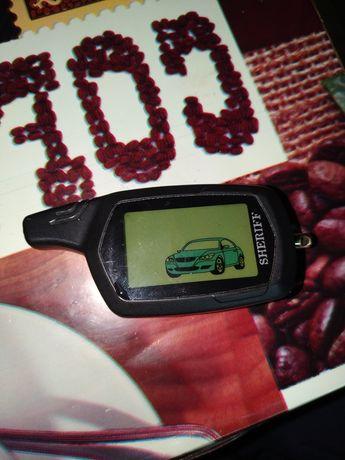 Двухсторонний пульт от автосигнализации шериф 1070 Состояние идеальное