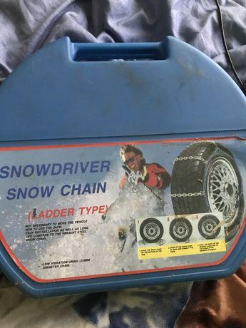 Lancuchy sniegowe nie uzywane
