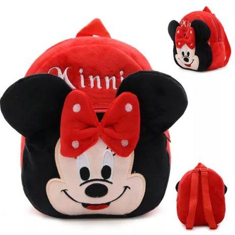 Pluszowy plecak Myszka Minnie Myszka Mickey