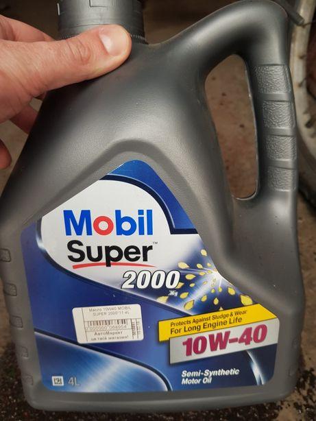 Масло mobil super 10w-40