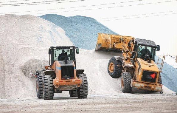 Sól drogowa - do mieszanek z piaskiem - 25 ton - Dostawa !