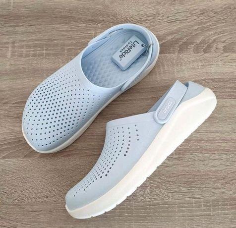 Новинка! Крокси Кроксы ЛайтРайд Pink Crocs Clog 36-45 розмір