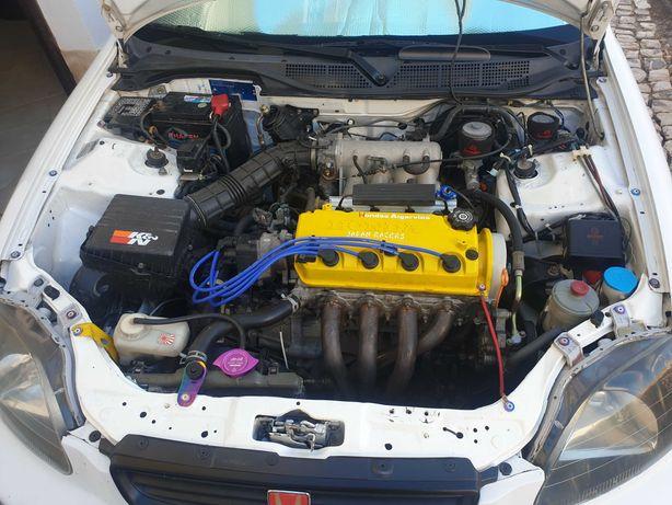 Cabeça Honda  Civic d15 vtec