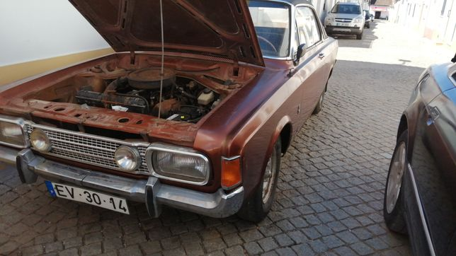 Ford Taunus 17m RS V6 2000s coupé hardtop  1972