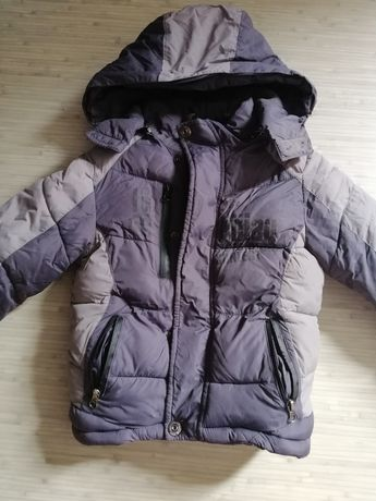 Теплая куртка 4-5 лет