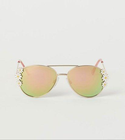 Новые металлические очки H&M солнцезащитные