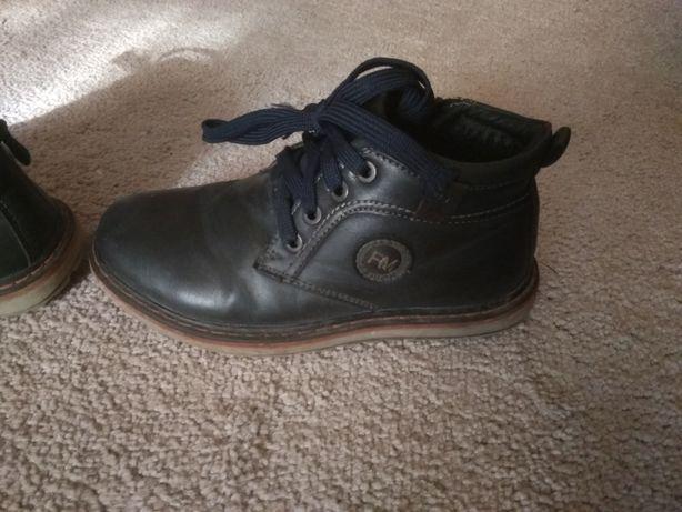 зимние ботинки на мальчика р.31 (22 см)