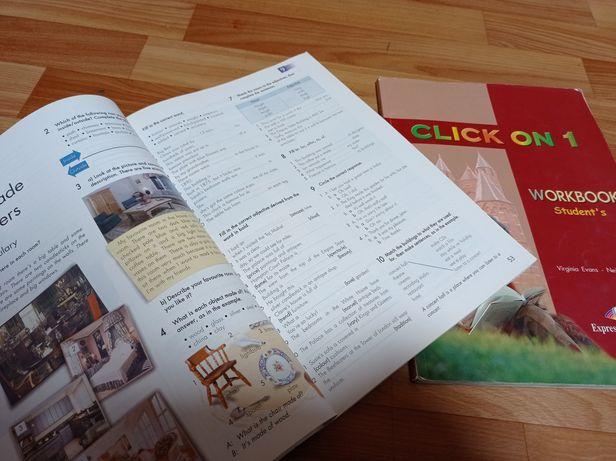 Продам учебники по английскому языку Click on 1 и 2