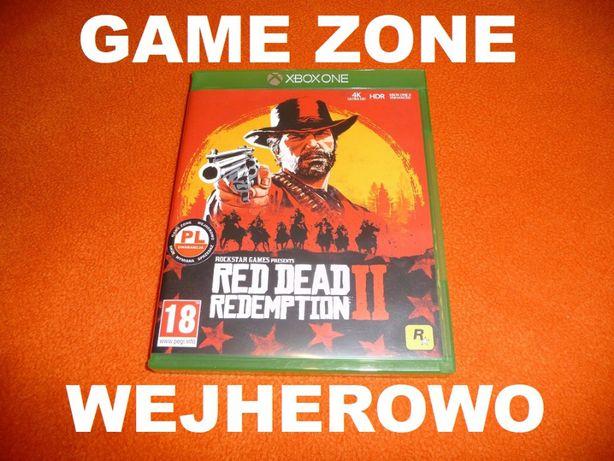 Red Dead Redemption 2 Xbox One + S + X = PŁYTA PL = Wejherowo