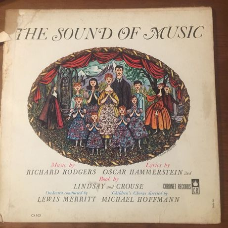 Disco The Sound Of Music - Música no Coração