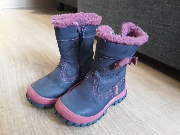 Zimowe buty Lasocki dla dziewczynki rozm. 22