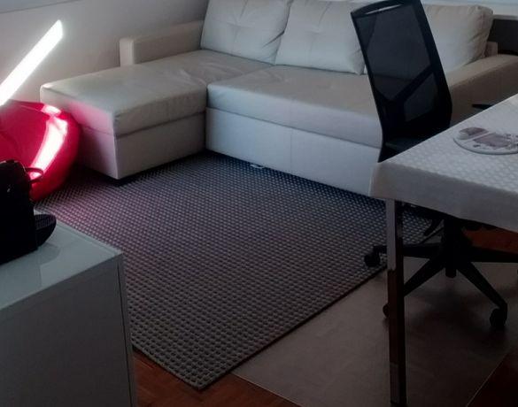Carpete cinza 150×200cm