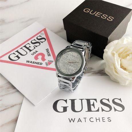 Zegarek Guess srebrny zloty
