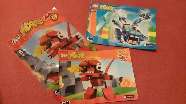 Dwa zestawy Lego Mixels 41541 i 41530
